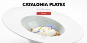 Одностраничный промо-сайт эксклюзивной посуды